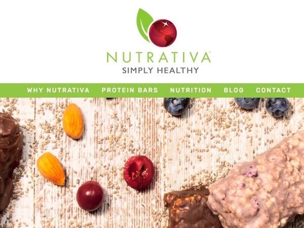 Nutrativa Simply Healthy - Protein Bars